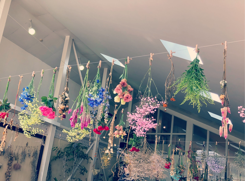 お花のガーランド